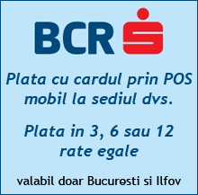 Plata in rate BCR