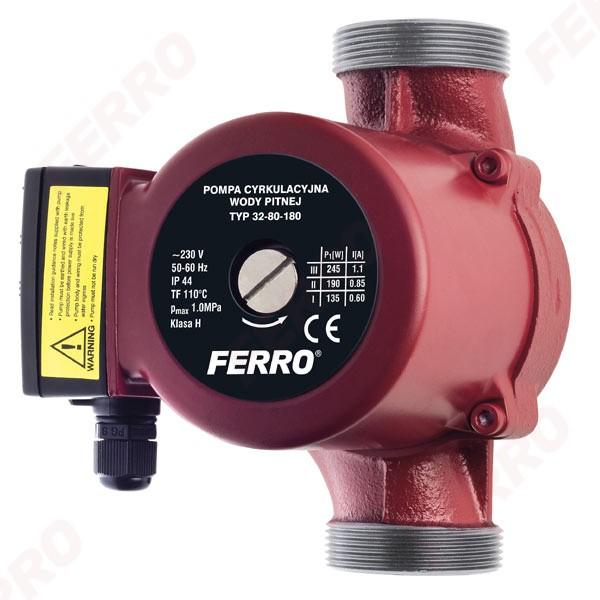 Pompa de recirculare FERRO 25/40/180. Poza 2834