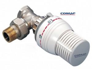 poza Robinet termostatabil 1/2 + cap termostatic COMAP
