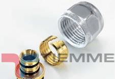 poza Adaptor pentru tub PEXAL 16x2-1/2 CROM