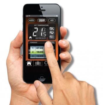 poza Termostat de ambient  controlat prin internet SALUS IT 500