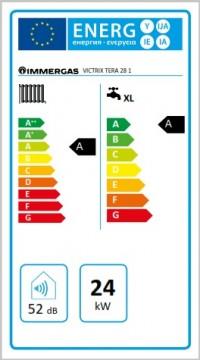 Poza Centrala termica pe gaz in condensatie IMMERGAS VICTRIX TERA24/28 1 ErP+ kit evacuare inclus.. Poza 2978