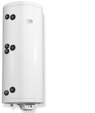 poza Boiler din otel termoelectric cu 2 serpentine vertical ELDOM 150 L