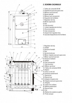 Poza Centrala termica pe lemne si carbune din fonta VIADRUS U22-D4 20KW. Poza 3460