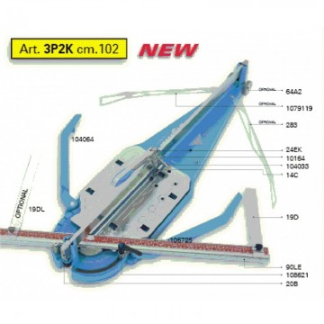 poza Masina pentru taiat gresie si faianta SIGMA 3P2K-102 cm