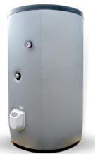 poza Boiler din otel termoelectric cu 2 serpentine vertical ELDOM 750 L