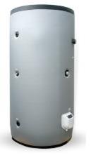 poza Boiler din otel termoelectric cu 2 serpentine vertical ELDOM 1000 L