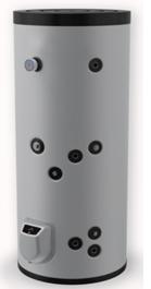 poza Boiler din otel termoelectric cu 1 serpentine vertical ELDOM 300 L