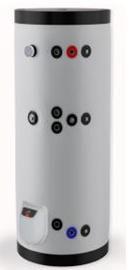 poza Boiler din otel termoelectric cu 1 serpentine vertical ELDOM 500 L
