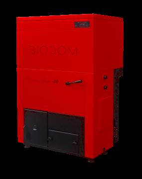 poza Cazan pe peleti Biodom Double Fan 30-30 Kw