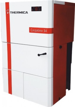 Poza Centrala termica pe peleti, THERMICA Carpatino 34 -30,8 Kw. Poza 3739