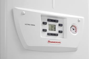 Poza Centrala termica pe gaz in condensatie IMMERGAS VICTRIX OMNIA 25 + kit evacuare inclus.. Poza 3746