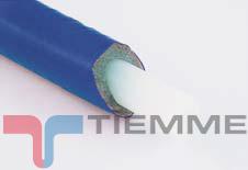 poza Teava PEX cu bariera oxigen izolat albastru 16 x 2 mm