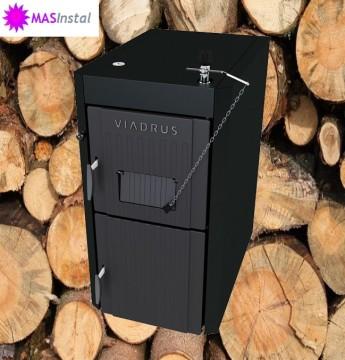 Poza Cazan din fonta cu gazeificare pt functionare cu combustibil solid lemn VIADRUS U22 ECONOMY 38 KW. Poza 4570